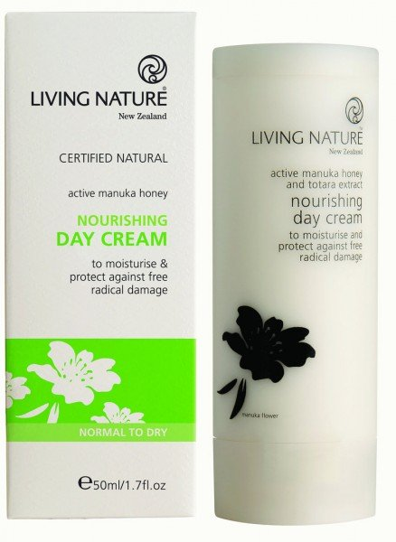 Living Nature Nourishing Day Cream - Nährende Tagescreme 50 ml
