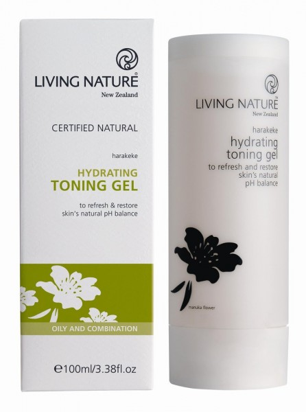 Living Nature Hydrating Toning Gel - Feuchtigkeits-Toning Gel 100 ml
