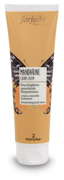 Farfalla Mandarine Carpe Diem Körperlotion 150ml feuchtigkeitsspendend