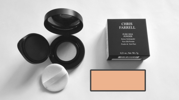 Chris Farrell Pure Silk Powder No 12 (dunkelbeige) 7gr