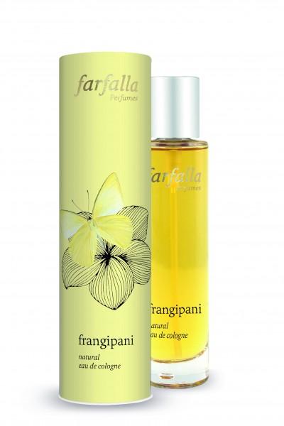 Farfalla frangipani natural eau de cologne 50ml