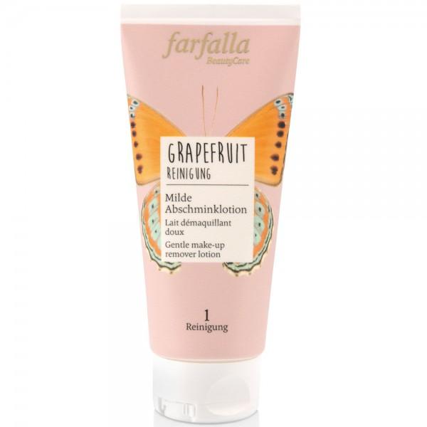 Farfalla Grapefruit Reinigung Milde Abschminklotion 100ml