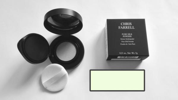 Chris Farrell Pure Silk Powder Nr 18 Anti Redness (grün) 7 gr