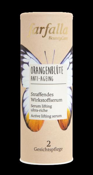 Farfalla Orangenblüte Straffendes Wirkstoffserum 15ml Anti-Ageing
