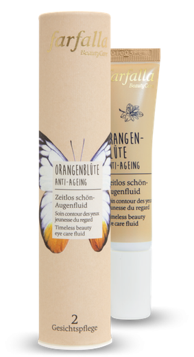 Farfalla Orangenblüte Zeitlos schön-Augenfluid Anti-Ageing 15 ml