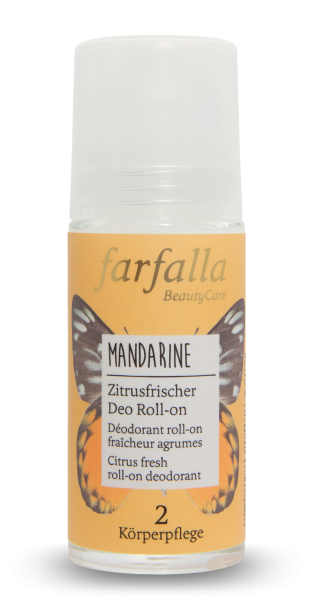 Farfalla Mandarine Zitrusfrischer Deo Roll-on 50ml