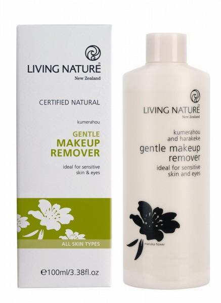 Living Nature Gentle Makeup Remover - Sanfter Make-up Entferner 100 ml