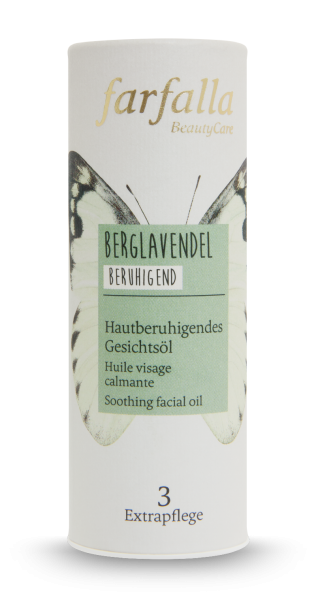 Farfalla Berglavendel Hautberuhigendes Gesichtsöl 20 ml