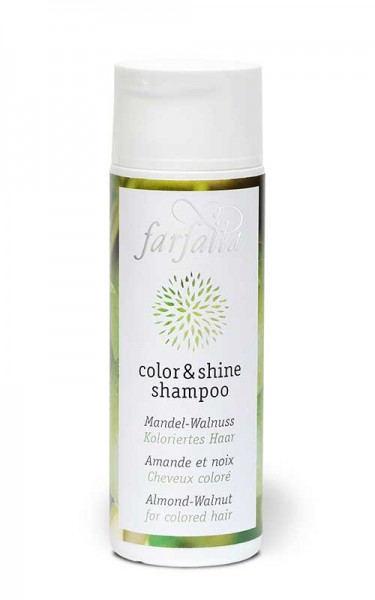 Farfalla color & shine shampoo Mandel-Walnuss 200ml