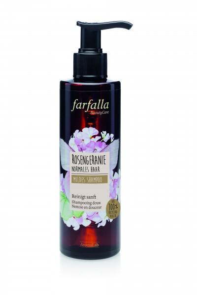 Farfalla Rosengeranie Mildes Shampoo 200ml