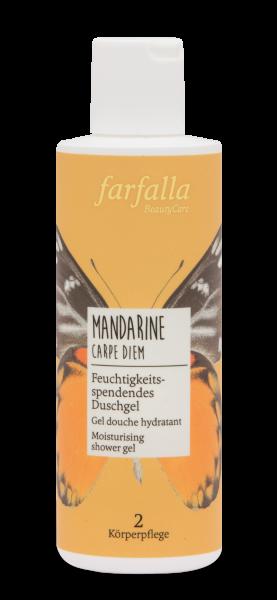 Farfalla Mandarine Carpe Diem Duschgel 200ml feuchtigkeitsspendend