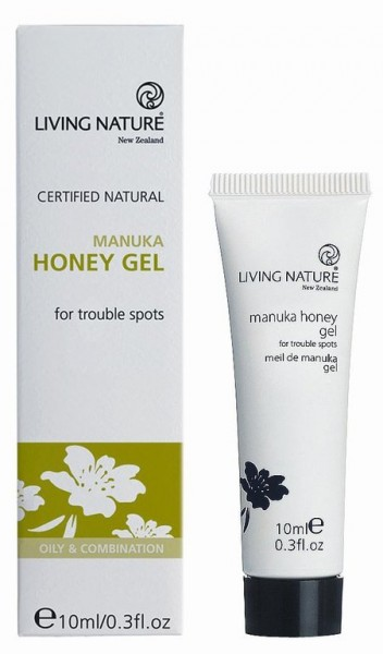 Living Nature Manuka Honey Gel Tube 10 ml