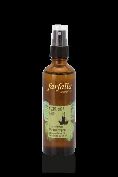 Farfalla Aroma-Yoga Benzoe Sonnengruss Bio-Raumspray 75ml