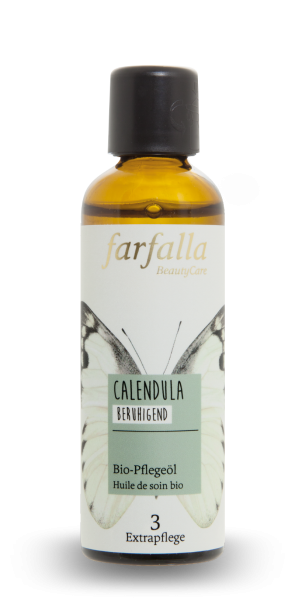 Farfalla Calendula Bio-Pflegeöl 75ml beruhigend
