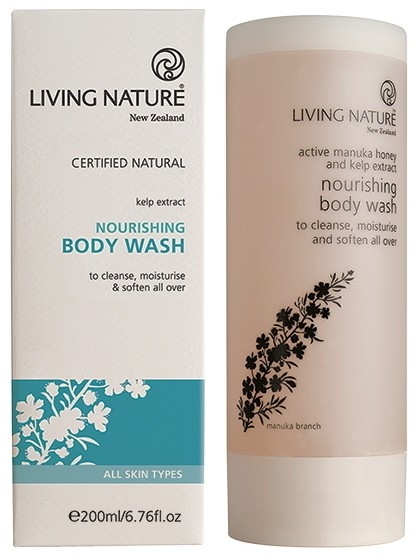 Living Nature Nourishing Body Wash - Nährendes Duschgel 200 ml