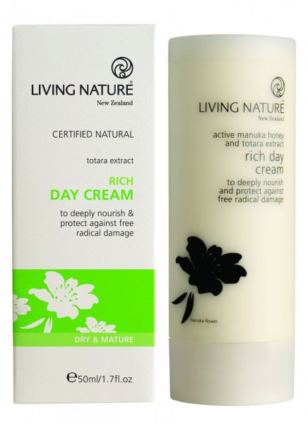 Living Nature Rich Day Cream - Reichhaltige Tagescreme 50 ml