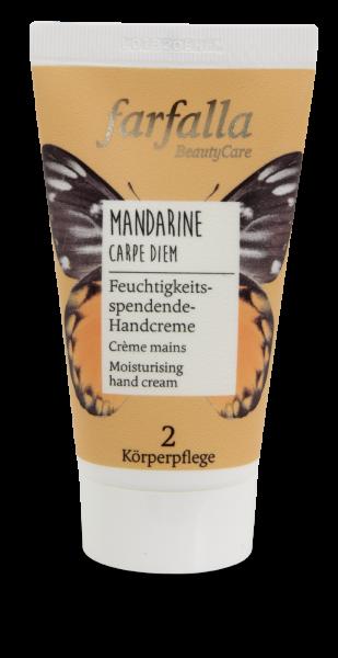 Farfalla Mandarine Carpe Diem Handcreme 50ml feuchtigkeitsspendend
