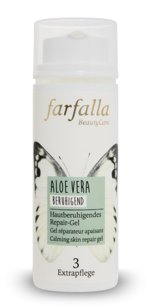 Farfalla Aloe Vera Hautberuhigendes Repair-Gel 50ml beruhigend