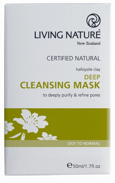 Living Nature Deep Cleansing Mask - Tief wirk. Reinigungsmaske 50 ml