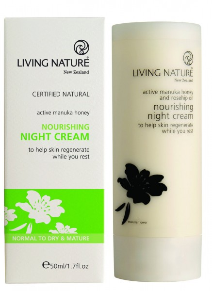 Living Nature Nourishing Night Cream - Nährende Nachtcreme 50 ml