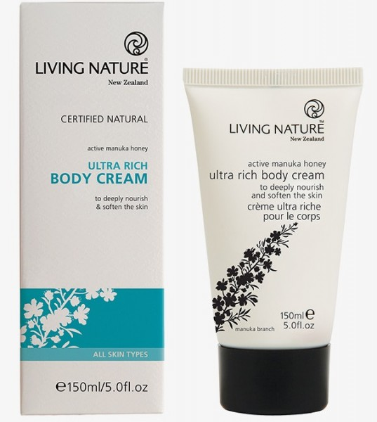 Living Nature Ultra Rich Body Cream - Ultra Reichhaltige Körpercreme 150 ml