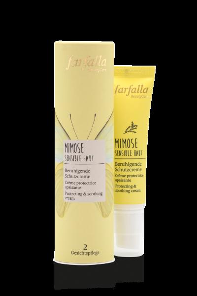 Farfalla Mimose Beruhigende Schutzcreme 30 ml Sensible Haut