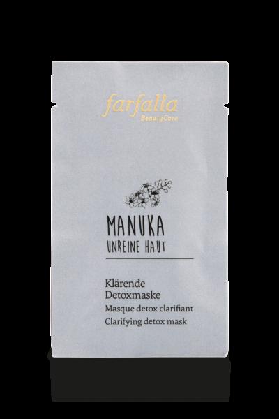 Farfalla Manuka Unreine Haut klärende Detoxmaske 7 ml