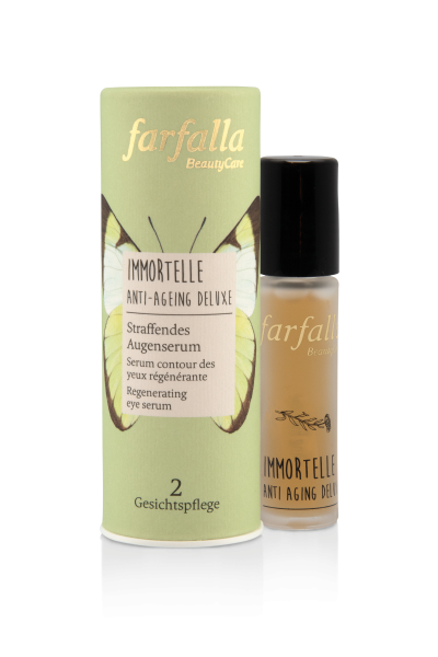Farfalla Immortelle Straffendes Augenserum 10ml Roll-on