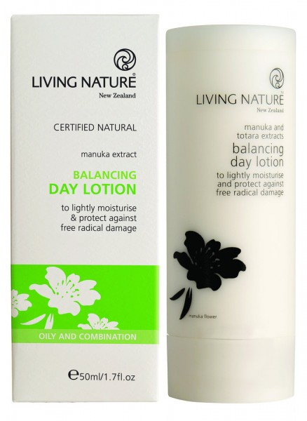 Living Nature Balancing Day Lotion - Ausgleichende Tageslotion 50 ml