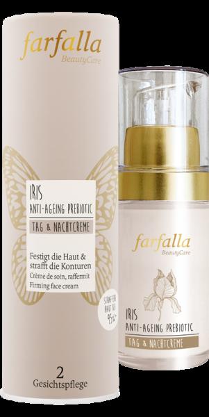 Farfalla Iris Anti-Ageing Prebiotic Tag & Nachtcreme 30ml