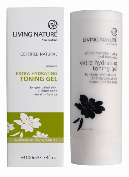 Living Nature Extra Hydrating Toning Gel - Extra Toning Gel 100 ml