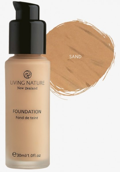 Living Nature Foundation Pure Sand - Mineral Make-up 30 ml