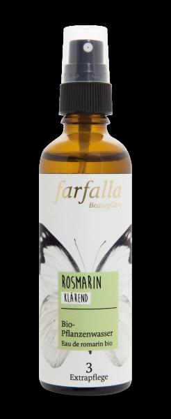 Farfalla Rosmarin Bio-Pflanzenwasser 75ml klärend