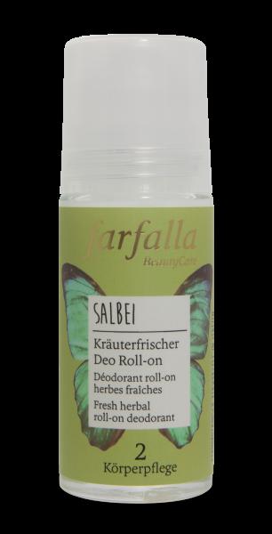 Farfalla Salbei Kräuterfrischer Deo Roll-on 50ml