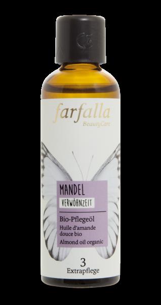 Farfalla Mandel Bio-Pflegeöl 75ml Verwöhnzeit