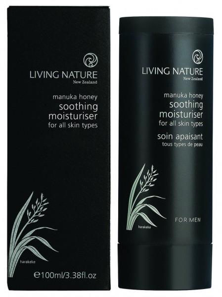 Living Nature Soothing Moisturiser - Feuchtigkeitscreme men 100 ml