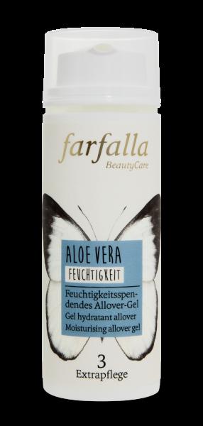 Farfalla Aloe Vera Allover-Gel 50ml feuchtigkeitsspendend